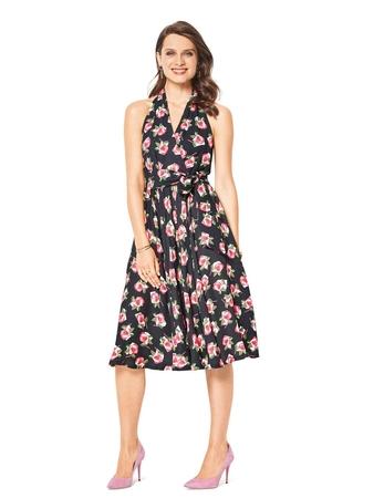 2c09fb6b904 Платье с открытой спиной - выкройка № 6421 из журнала 13 2018 ...