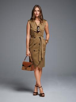Платье в стиле тренчкота