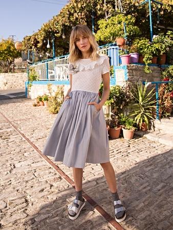 Платье а-ля комплект
