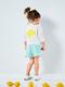 Трикотажный блузон для девочки