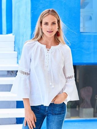 Блузка с рукавами реглан