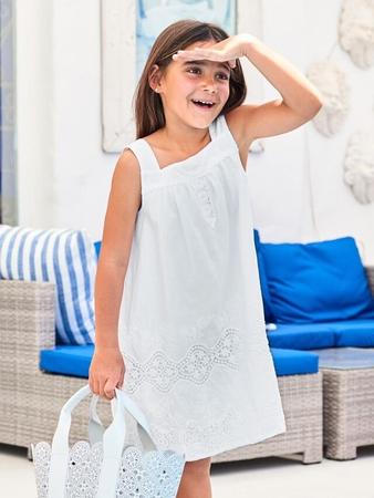 Расклешенное платье для девочки
