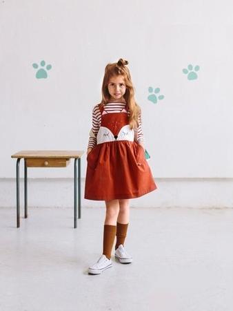 Сарафан с пышной юбкой для девочки