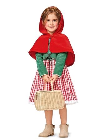 Маскарадный костюм «Красная шапочка»