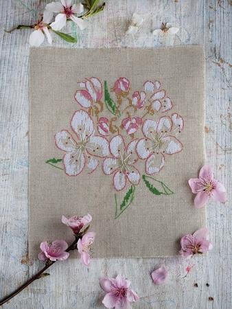 Схема вышивки «Сады цветут»