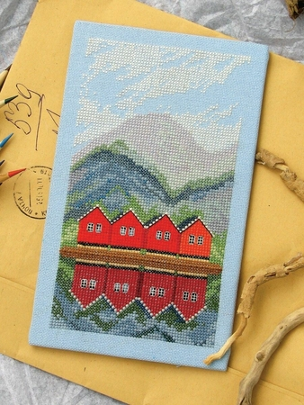 Схема вышивки «Страна викингов»