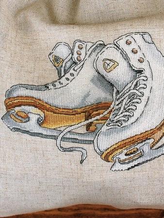 Схема вышивки «Танцы на льду»