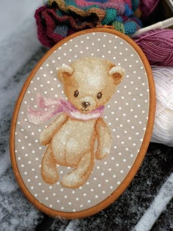 Схема вышивки «Мишка косолапый»