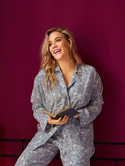 Пижамная блузка