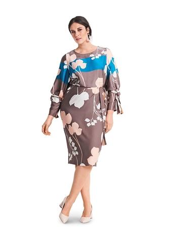 Платье О-силуэта