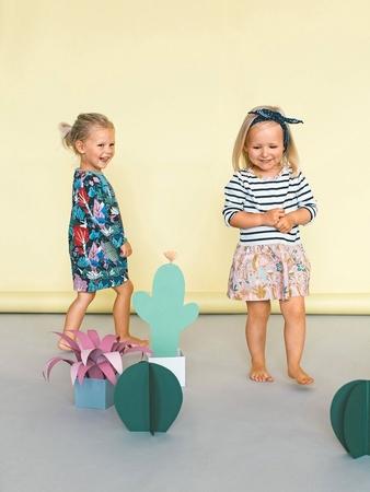 Детское платье с пышной юбочкой
