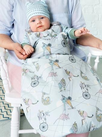 Детская шапочка и подушка
