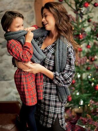 Пижамный образ для всей семьи. Комплект из 4 выкроек