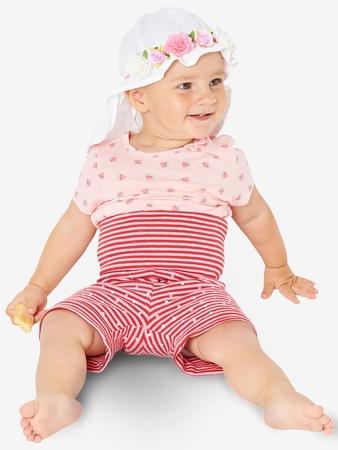 Трикотажные шорты для малышки