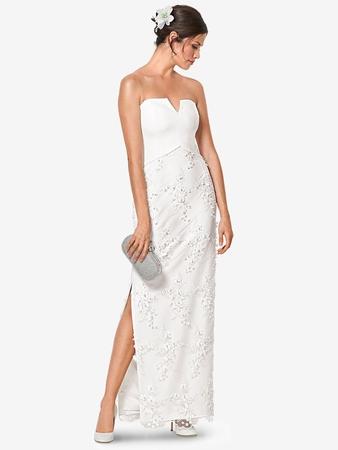 b5dc2bd7bd9 Свадебное платье-бюстье - выкройка № 6346 B из журнала 1 2019 ...