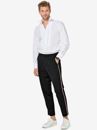 Мужские брюки с лампасами