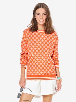 Пуловер с карманом-кенгуру