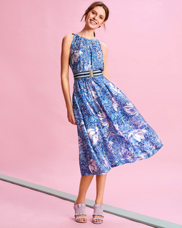 Платье с американскими проймами