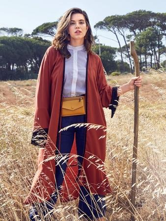 Длинное кимоно