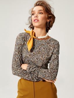 Пуловер с круглой горловиной