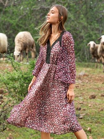 Платье в стиле кантри