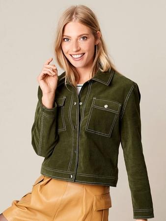 Куртка в джинсовом стиле