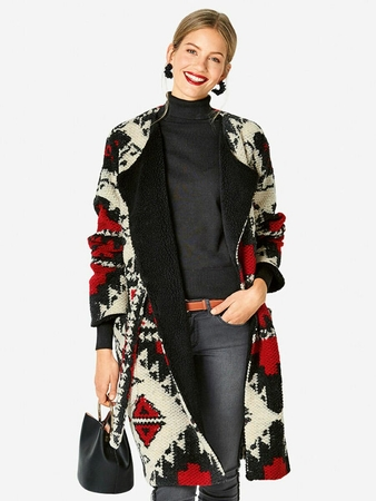 Пальто в стиле casual