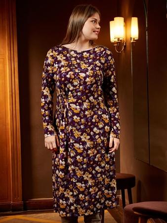 Отрезное платье