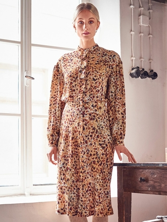 Платье со съёмной планкой