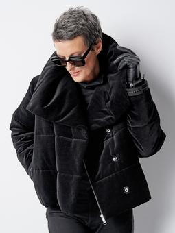 Куртка из бархата
