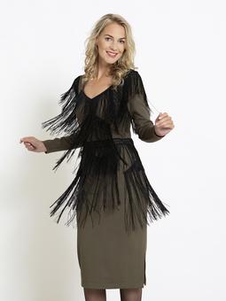 Платье-футляр в стиле чарльстон