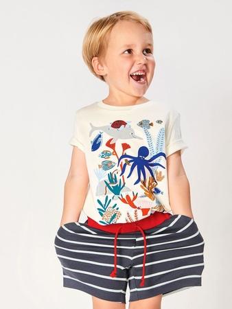 Полосатые шорты для мальчика