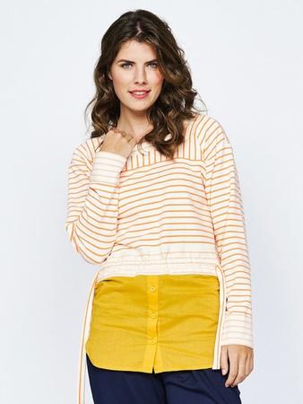Блузка с эффектом «два в одном»