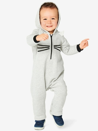Детский комбинезон с капюшоном