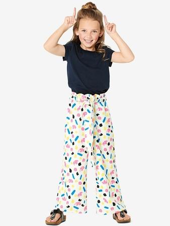 Широкие брюки для девочки