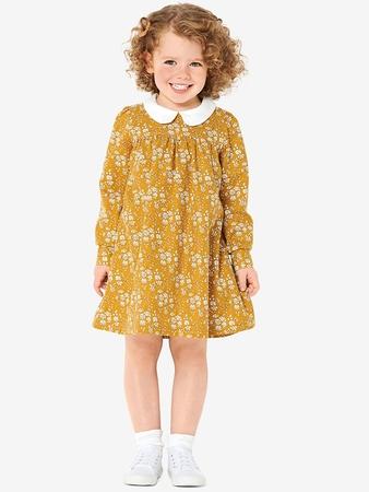 Платье с воротничком для девочки