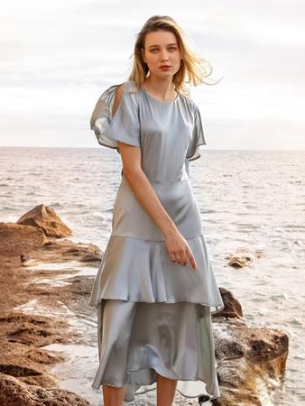 Миди-платье