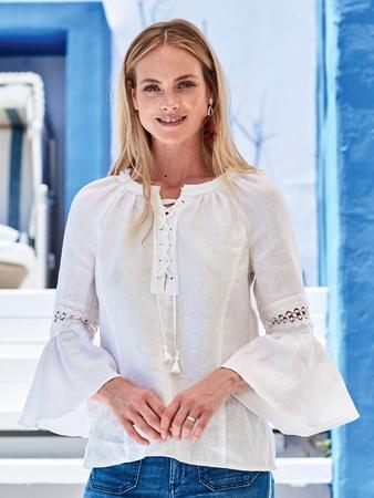 Блузка в фольклорном стиле