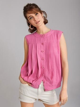 Блузка со складками