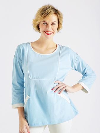 Блузка в стиле ретро