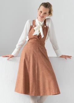Сарафан с расклешенной юбкой