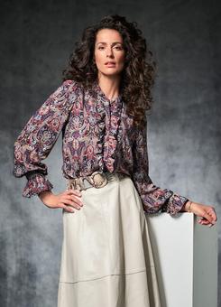 Блузка в стиле 70-х