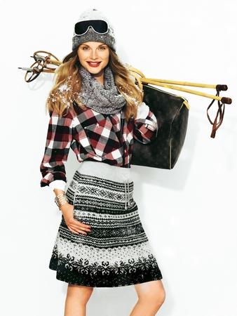 Трикотажная юбка на эластичном поясе