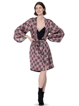 Халат-кимоно с запахом