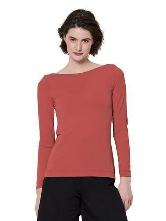 Облегающий пуловер