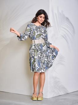 Ярусное платье в стиле хиппи