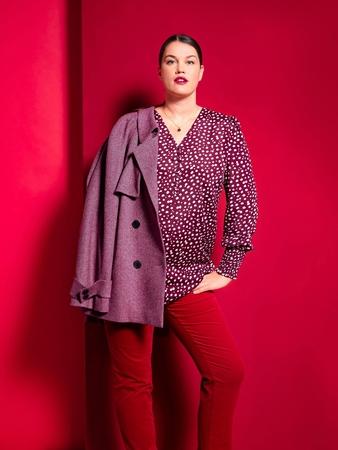 Модель блузки ретро