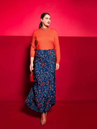 Модель юбки с клином годе
