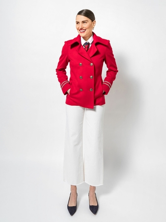 Модель куртки-бушлата
