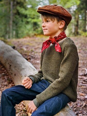 Модель пуловера простого кроя